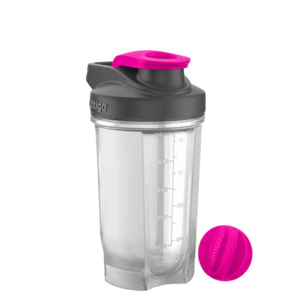 Shake & Go FIT (590 ml) vandens gertuvė, neoninė rausva